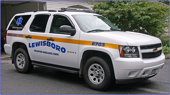 Lewisboro Volunteer Ambulance Corps - Cross River, New York - Ambulances  Page